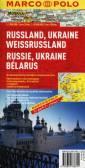 Rosja, Ukraina, Białoruś mapa drogowa - okładka książki