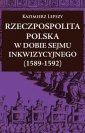 Rzeczpospolita Polska w dobie Sejmu - okładka książki