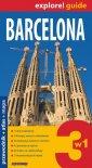 Barcelona 3 w 1. Przewodnik + atlas - okładka książki