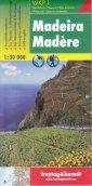 Madera mapa (skala 1: 30 000) - okładka książki
