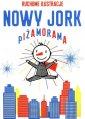 Nowy Jork. Piżamorama - okładka książki