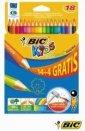Kredki ołówkowe Kids Evolution - zdjęcie produktu