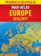 Europa 2016/2017 Maxi Atlas - okładka książki