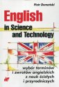 okładka książki - English in Science and Technology.