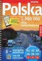 Atlas samochodowy Polska (skala - okładka książki