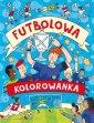 okładka książki - Futbolowa kolorowanka