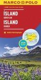 Islandia mapa. Island zoom system - okładka książki
