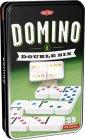 Domino klasyczne szóstkowe (w puszce - zdjęcie zabawki, gry