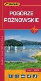 Pogórze Rożnowskie mapa turystyczna - okładka książki