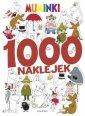 okładka książki - Muminki. 1000 naklejek