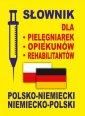 Słownik dla pielęgniarek, opiekunów, - okładka książki