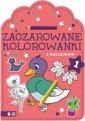 okładka książki - Zaczarowane kolorowanki cz. 1