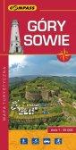 Góry Sowie mapa turystyczna (skala - okładka książki