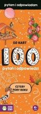 Cztery pory roku. 100 pytań i odpowiedzi - okładka książki