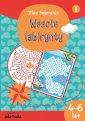 Wesołe labirynty 1 (wiek 4-6 lat) - okładka książki