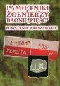 Pamiętniki żołnierzy Baonu Pięść. - okładka książki