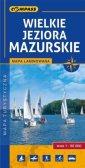 Wielkie Jeziora Mazurskie. Laminowana - okładka książki