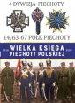 4 Dywizja Piechoty. 14,63,67 Pułk - okładka książki