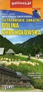Dolina Chochołowska mapa atrakcji - okładka książki