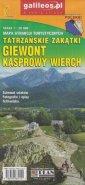 Giewont, Kasprowy Wierch mapa atrakcji - okładka książki