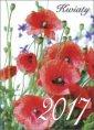 Kalendarz 2017. Kwiaty - okładka książki