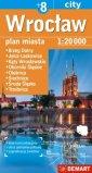 Wrocław plan miasta  8 (skala 1:20 - okładka książki