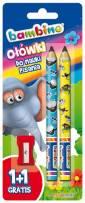 Ołówki do nauki pisania bambino - zdjęcie produktu
