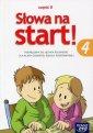 Słowa na start. Klasa 4. Szkoła - okładka podręcznika
