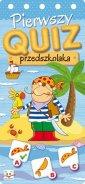 Pierwszy quiz przedszkolaka - Wydawnictwo - okładka książki