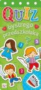 Quiz bystrego przedszkolaka - Wydawnictwo - okładka książki