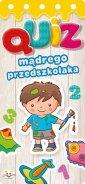 Quiz mądrego przedszkolaka - Wydawnictwo - okładka książki