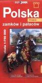 Polska mapa zamków i pałaców (skala - okładka książki