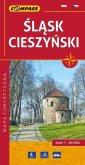 Śląsk Cieszyński. Mapa turystyczna - okładka książki