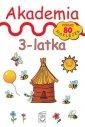 Akademia 3-latka biała - Monika - okładka książki