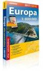 Europa atlas samochodowy 1:800 - okładka książki