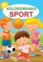 Kolorowanka Sport - okładka książki
