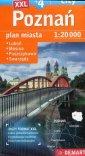 Poznań Plus 4. Plan miasta 1:20 - okładka książki