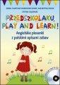 Przedszkolaku Play and learn - - okładka podręcznika