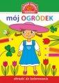 Obrazki do kolorowania. Mój ogródek - okładka książki