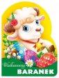 Wielkanocny baranek. Wykrojnik - okładka książki