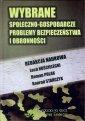 Wybrane społeczno-gospodarcze problemy - okładka książki