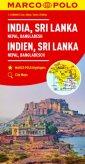 Indie, Sri Lanka, Nepal, Bangladesz - okładka książki