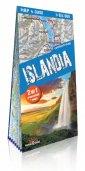 Islandia comfort! map&guide. 2w1: - okładka książki