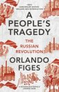 A Peoples Tragedy. The Russian - okładka książki