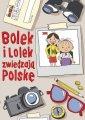 Bolek i Lolek zwiedzają Polskę - okładka książki