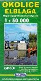 Okolice Elbląga 1:50 000 - okładka książki