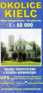 Okolice Kielc mapa 1:50 000 - Wydawnictwo - okładka książki