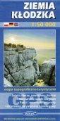 Ziemia Kłodzka mapa 1:50 000 - okładka książki