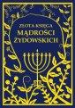 Złota księga mądrości żydowskich - okładka książki