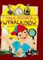 Mała historia wynalazków dla dzieci - okładka książki